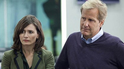 "Emily Mortimer and Jeff Daniels Emily Mortimer and Jeff Daniels star in ""The Newsroom."""