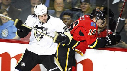 Eric Godard Penguins forward Eric Godard might miss Thursday's game with the Bruins.