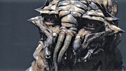 "Extraterrestrials The ""District 9"" extraterrestrials are otherworldly and yet have expressive eyes."