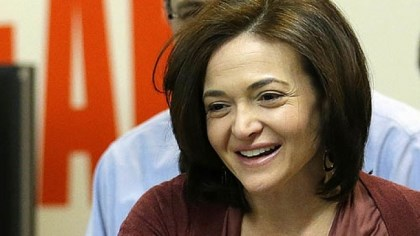 "Facebook COO Sheryl Sandberg Facebook COO Sheryl Sandberg arrived at the company in March, the same month her book, ""Lean In,"" was published. Ms. Sandberg posits that women hold themselves back from top leadership spots by not seeking promotions the way men do."