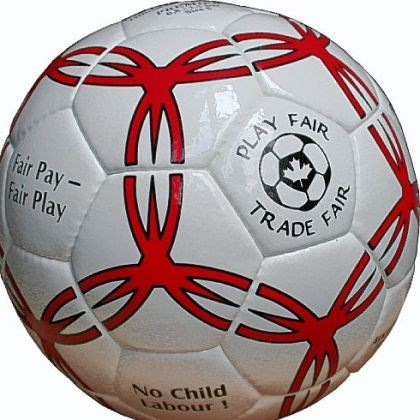 Fair-trade soccer balls