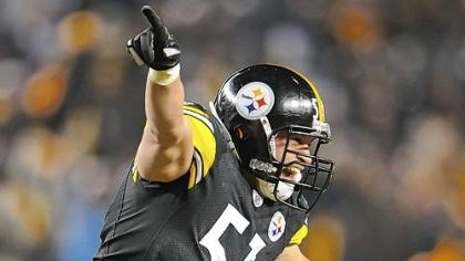 Farrior Inside linebacker James Farrior, seen here, longtime backup nose tackle Chris Hoke and starting nose tackle Casey Hampton are veterans on a Steelers defense ranked No. 1 again this season. But all three might not be back next season.