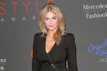 Fashion Week in New York City Kate Upton was honored last week with a Style Award as model of the year at Lincoln Center in New York.