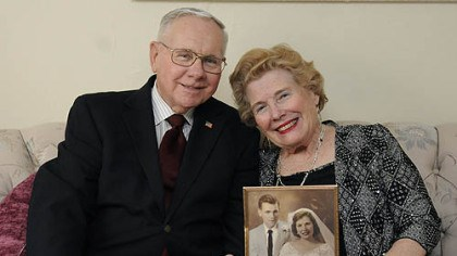 February February: Cliff and Joan Morton of Bethel Park.