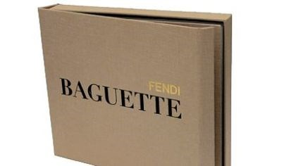 Fendi book Fendi is honoring the 15th anniversary of its Baguette handbag with a 300-plus page coffee-table book celebrating the accessory's artistry and history.
