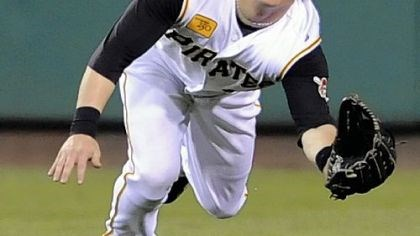 First Gold Glove Nate McLouth is the Pirates' first Gold Glover in 15 years.