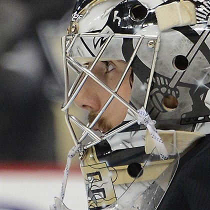 fleury 500 mask Marc-Andre Fleury was shaky against the Bruins in the second period of Game 2.