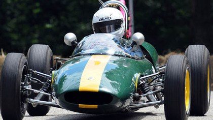 For the memories at Grand Prix Todd Morici captures his run through the twists and turns of Serpentine Drive in Schenley Par kwith a miniature video camera fastened to the roll bar of his 1962 Lotus 22.