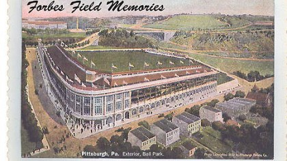 Forbes Field Memories