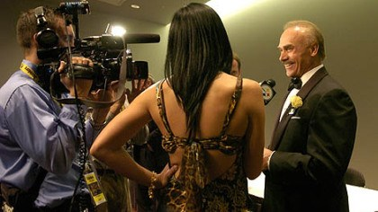 Former Steeler Rocky Bleier Former Steeler Rocky Bleier talks to the media at the Steelers 75th Season Gala at the David L. Lawrence Convention Center.