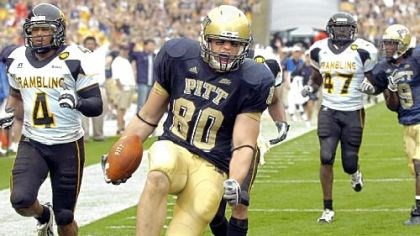 Four on Friday Pitt tight end Nate Byham has 17 receptions this season, but four were Friday.