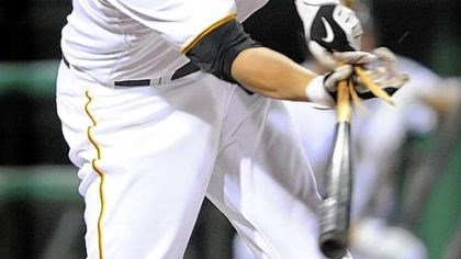 Freddy Sanchez Freddy Sanchez's bat breaks as he pops out last night in the Pirates' rain-delayed victory vs. Colorado.