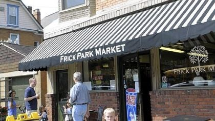 Frick Park Market in Point Breeze The Frick Park Market, under the ownership of Maggie Cook and John Prodan, has once again become a spot for neighbors to drop in for snacks, food and conversation.