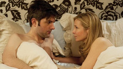"'Friends With Kids' Adam Scott and Jennifer Westfeldt try to be just ""Friends With Kids."""