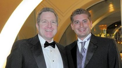 Friendship Ball Alby Oxenreiter and Rich Walsh.