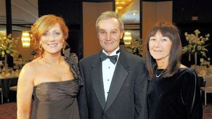 Friendship Ball Wendy O'Brien and Dave and Nancy Klasnick.