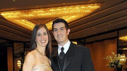 Friendship Ball Chairs Dr. M. Lori Certo Rossetti and her husband Dr. James Rossetti.