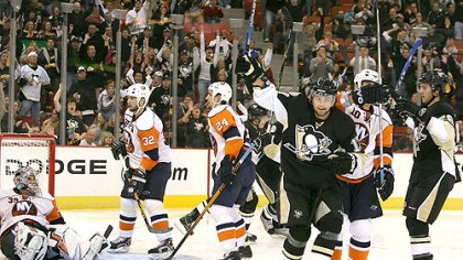 Game at Mellon Arena Was Thursday's win against the Islanders at Mellon Arena enough to get the Penguins going? (vs. Islanders 11/15/07)