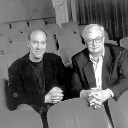 Gene Siskel and Roger Ebert Gene Siskel and Roger Ebert