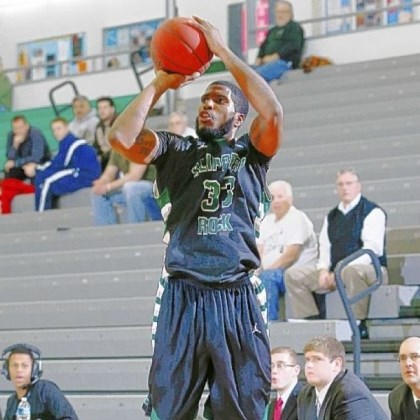 Gerald Brooks Schenley graduate Gerald Brooks has become a key contributor to the Slippery Rock men's basketball team.