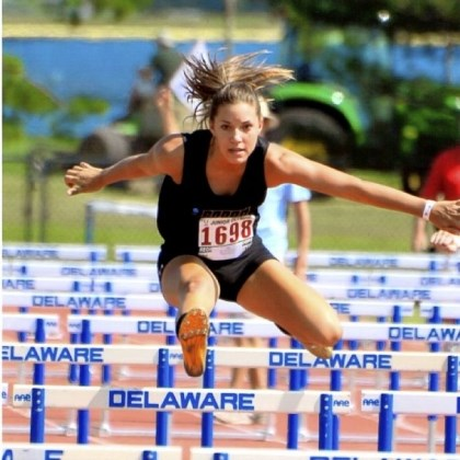 Gibson Samantha Gibson, a student at Trinity Christian School, has earned a scholarship to Central Arkansas for the heptathlon.