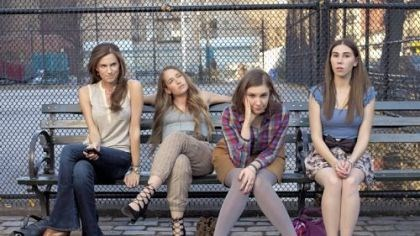 "Girls Allison Williams, Jemima Kirke, Lena Dunham, Zosia Mamet star in the HBO series ""Girls,"" written and directed by Ms. Dunham."