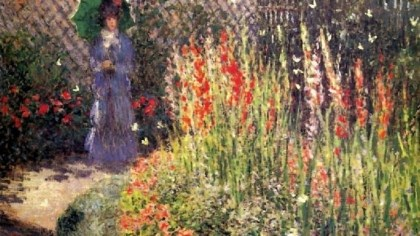 "'Gladioli' The DIA's collection includes ""Gladioli,"" an 1876 masterpiece by Impressionist Claude Monet."
