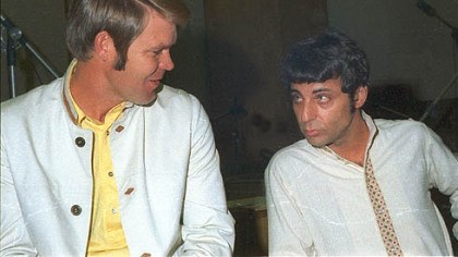 "Glen Campbell and Hal Blaine ""The Wrecking Crew"" tells the story of the studio musicians of the 1960s such as Glen Campbell, left, and Hal Blaine who made up The Wrecking Crew."