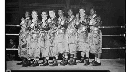Golden gloves Junior division Golden gloves Junior division champions at the Civic Arena, 1958.
