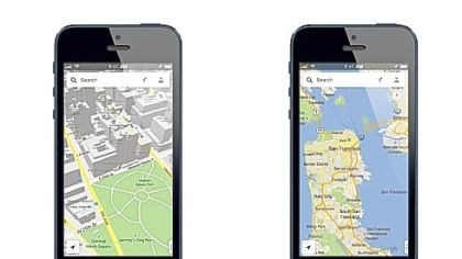 Google Maps iPhone app The release of the Google Maps iPhone app late Wednesday comes nearly three months after Apple Inc. replaced Google Maps as the device's built-in navigation system and inserted its own map software into the latest version of its mobile operating system.