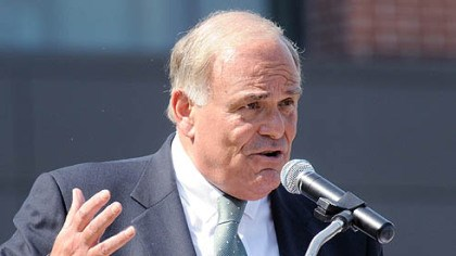 Gov. Ed Rendell Speaking in Cranberry as part of his four-stop tour yesterday, Gov. Ed Rendell lays out his reasoning for an income tax increase.