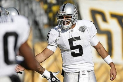 gradkowski file File of Bruce Gradkowski, when he played for the Raiders
