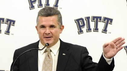 Graham leaving Pitt head coach Todd Graham, seen in a January photo, has sent an email to his players today informing them he is going to become the head coach at Arizona State.
