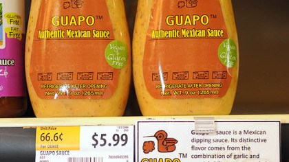 Guapo Guapo -- a Mexican dipping sauce made.