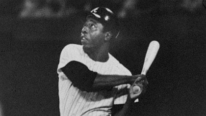 Hank Aaron in 1971