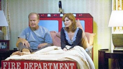 Hank Hank, played by Kelsey Grammer, and his wife, Tilly, played by Me