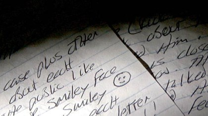 "'Happy Face' drawn on serial killer's letter On one of his letters to students at Duquesne University, serial killer Keith Hunter Jesperson drew a ""happy face."" Mr. Jesperson became known as the ""Happy Face Killer"" after including such a drawing on a letter to a newspaper."