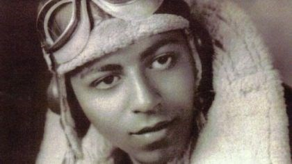 Harry Lanauze Dr. Harry Lanauze of Mc-Keesport during his days as a Tuskegee pilot.