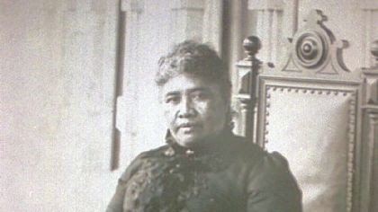 Hawaiian Queen Lili'uokalani Hawaiian Queen Lili'uokalani, shown in a 1900 photo, was the last reigning monarch in Hawaii when her rule was overthrown by revolutionaries in 1893 to establish an American-dominated provisional government.