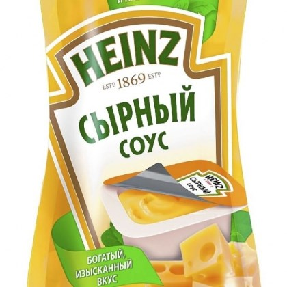 Heinz Cheese Sauce Pouch Heinz Cheese Sauce Pouch (Russia)