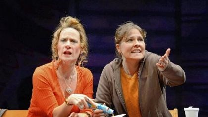 "Helen Coxe and Kelly McAndrew Helen Coxe and Kelly McAndrew in ""Good People."""