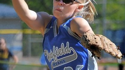 Hempfield Softball Karilynn Null and Hempfield ended their season Monday in the first round of the PIAA playoffs.