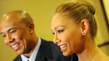 Hines and Kym Hines Ward and his Dancing with the Stars partner Kym Johnson.