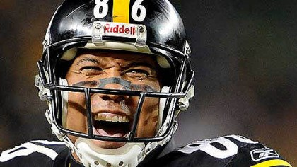 Hines smiling Hines Ward, seen here in a 2009 photo during a game at Heinz Field, today announced he is ending his 14-year career.