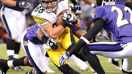 "Hines Ward Steelers wide receiver Hines Ward on facing the Ravens: ""It's the one game you circle."""