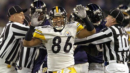 Hines Ward Steelers Hines Ward (vs. Ravens 11/05/07)