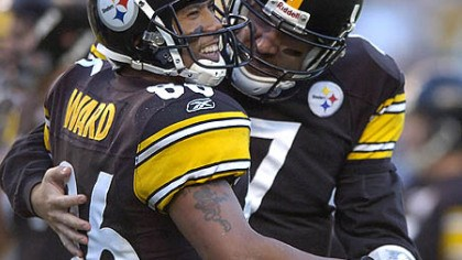 "Hines Ward and Ben Roethlisberger Steelers wide receiver Hines Ward on the return of quarterback Ben Roethlisberger: ""We definitely can open up our playbook and run a lot of different things. I can't wait to see him on the field competing."""