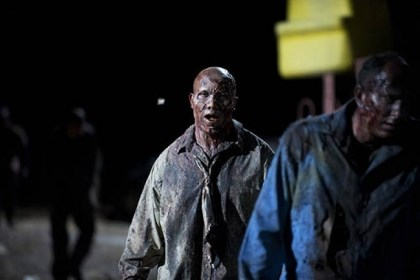 "Hines Ward zombie On the Feb. 10 episode of AMC's ""The Walking Dead,"" former Steelers receiver Hines Ward's career takes a more gruesome turn, as a zombie."