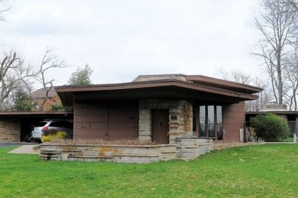 Historic Notz house Designed by Cornelia Brierly, the home at 120 Lutz Lane in West Mifflin was the first Usonian house built in Western Pennsylvania.