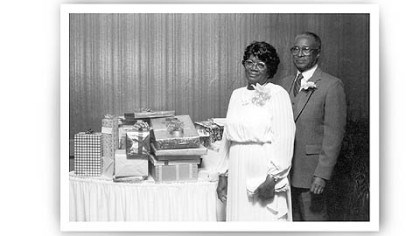 Holsendolph's parents, Wallace and Ethel Holsendolph's parents, Wallace and Ethel